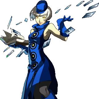 Elizabeth in Persona 4 Arena