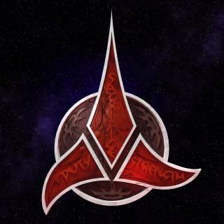 Klingon Empire symbol wallpaper