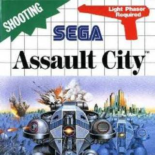 Assault City Front Cover