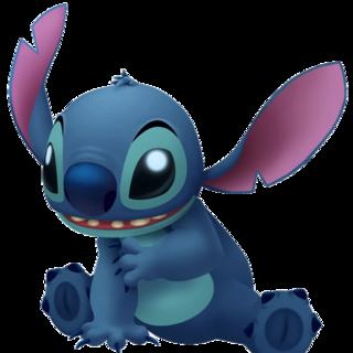 Model of Stitch in Kingdom Hearts II