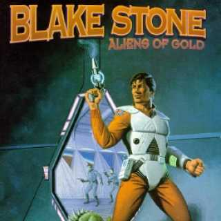 Blake Stone on the Cover of the Original game