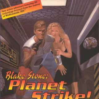 Blake Stone on the cover of Planet Strike