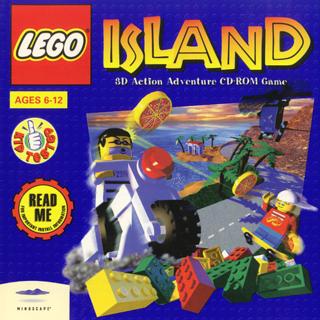 LEGO Island Jewel case cover