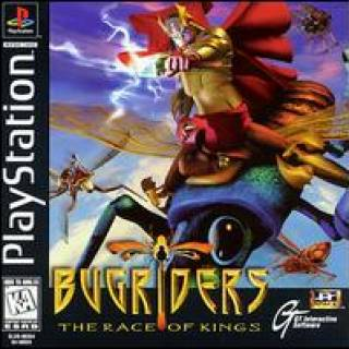 Bug Riders: The Race of Kings US PlayStation box art