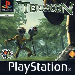 Terracon European PlayStation box art