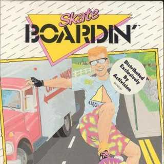 """Box art for """"Skate Boardin'"""""""