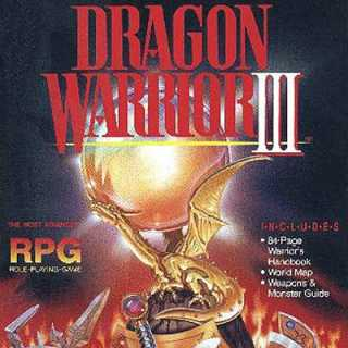Dragon Warrior III NA Box Art (NES)