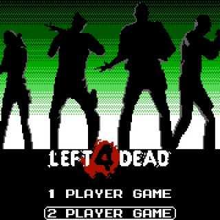 Pixel Force:L4D Title screen.