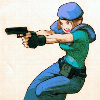 Jill - Marvel vs Capcom 2