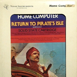TI-99/4A box front (US cartridge release by Texas Instruments)