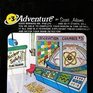 Atari 8-bit box front (US cassette release by Adventure International)