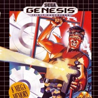 Genesis box front (US cartridge release by SEGA)