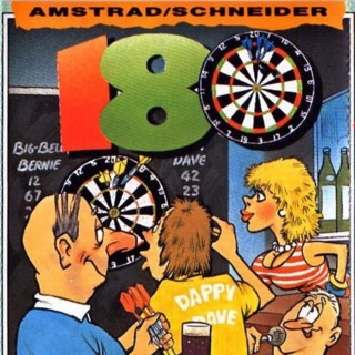 Amstrad CPC box front (UK cassette release by M.A.D.)