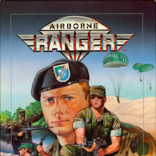 """C64 box front (US 5.25"""" disk release by Microprose)"""