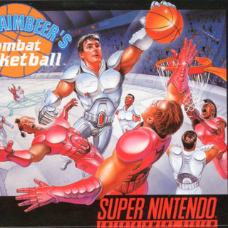 SNES box front (US cartridge release by Hudson Soft)