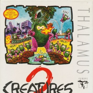 """C64 box front (UK 5.25"""" disk release by Thalamus)"""