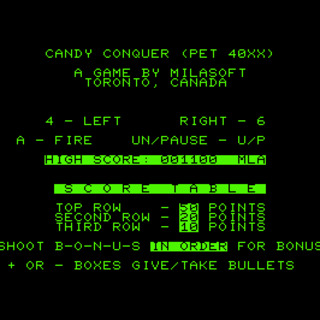 Candy Conquer