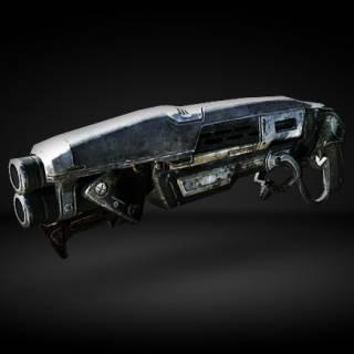 The Gnasher shotgun in Gears ...