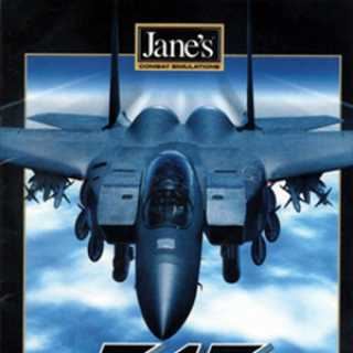 Jane's f-15 box art
