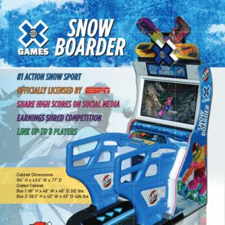 X Games Snowboarder