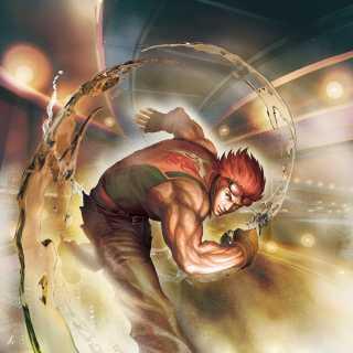 Hwoarang SFxT artwork