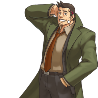 Gumshoe from Ace Attorney Investigations