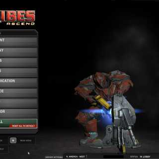 Tribes: Ascend controls