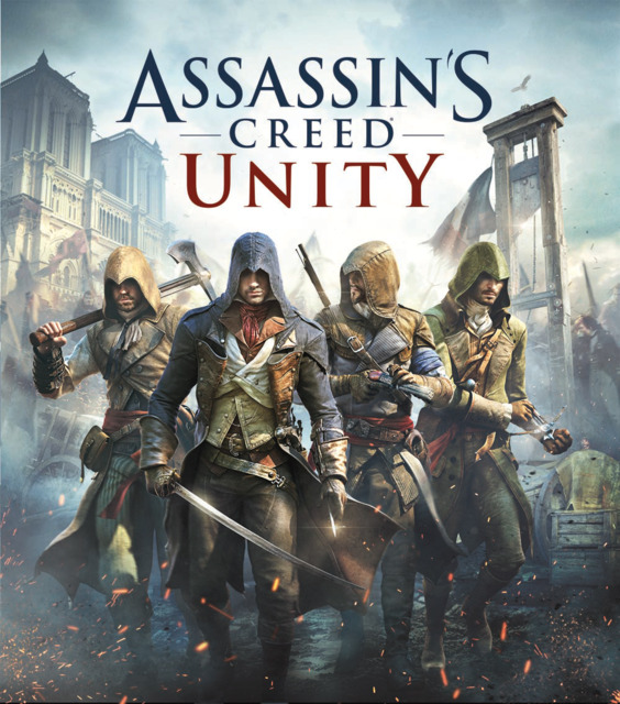 Poster. Assassin's Creed: Unity