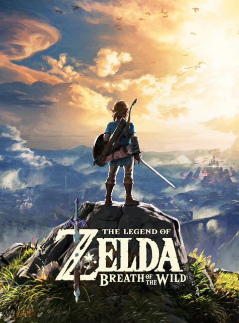 Poster. The Legend of Zelda: Breath of the Wild