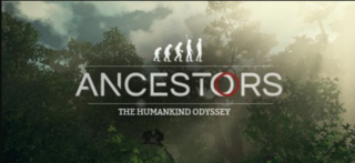 Poster. Ancestors: The Humankind Odyssey